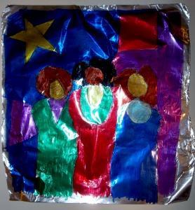 foil painting set b 1