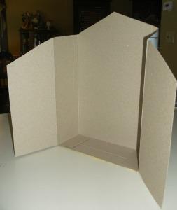 cereal box creche back box  cut