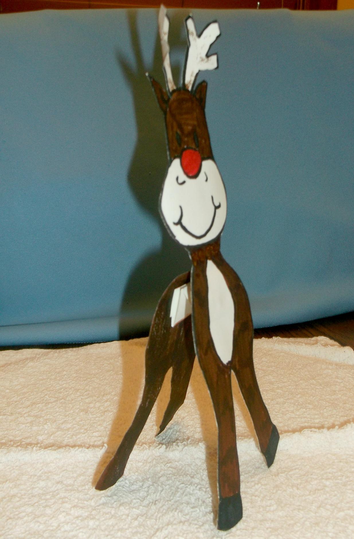 North Pole Reindeer Antics | KIDS & GLITTER