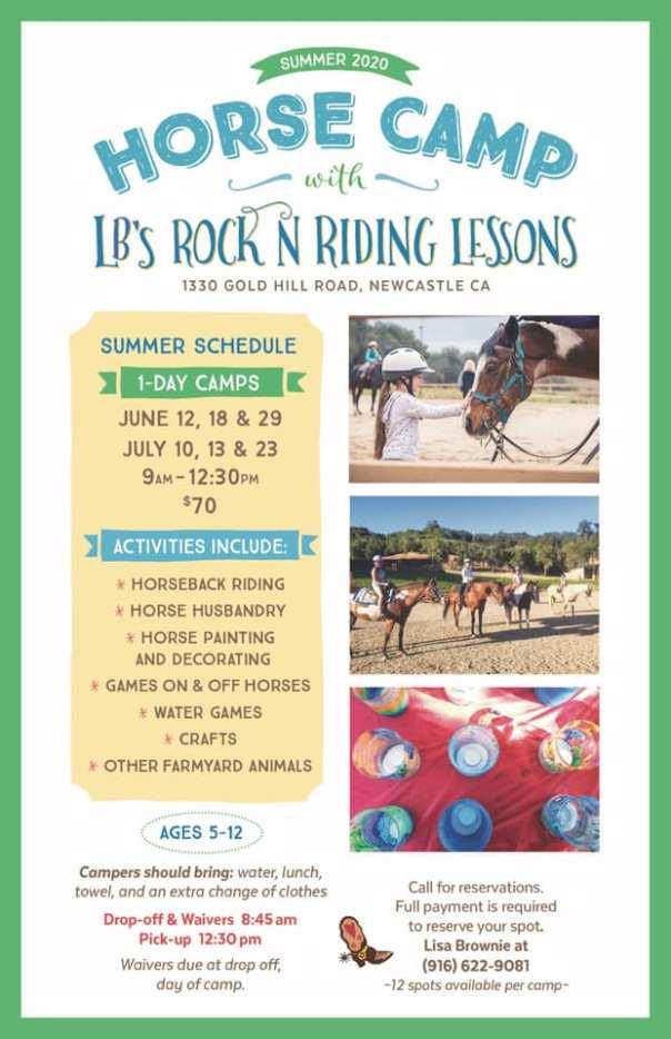 lbsrocknriding 2020 summer horse camp