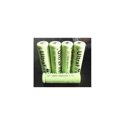 18650 Rechargeable Batteries 3.7v Lithium Li-ion Battery