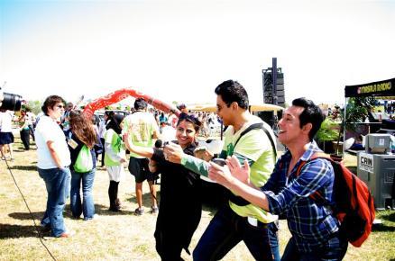 Ruchi with Sunil T and Mahesh Mahbubani