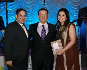 Himesh Gandhi, Franco Allbarran, Farrah Gandhi