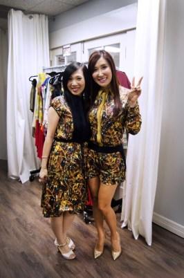 Connie Kwan Wong and Mandy Kao - Photo by Kevin Zi Liu