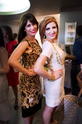 Karina Barbieri and Yasmine Haddad - Photo by Kevin Zi Liu