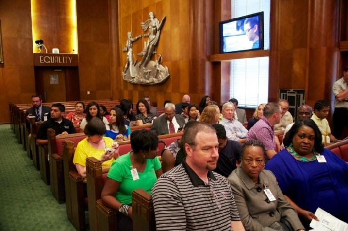 Sewa International Houston honored at City Hall (1)