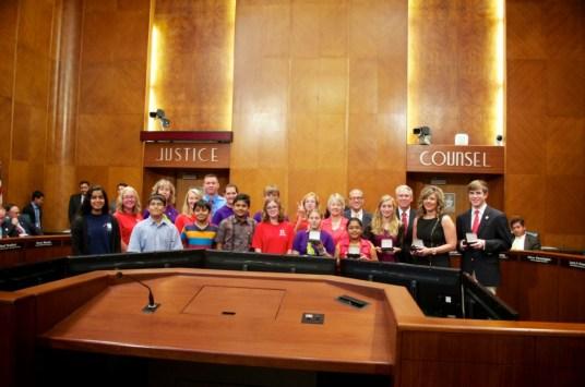 Sewa International Houston honored at City Hall (4)