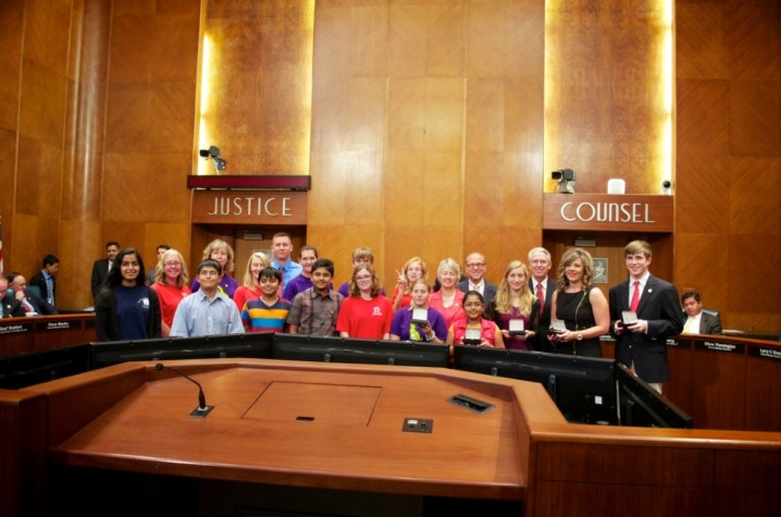 Sewa International Houston honored at City Hall (4)