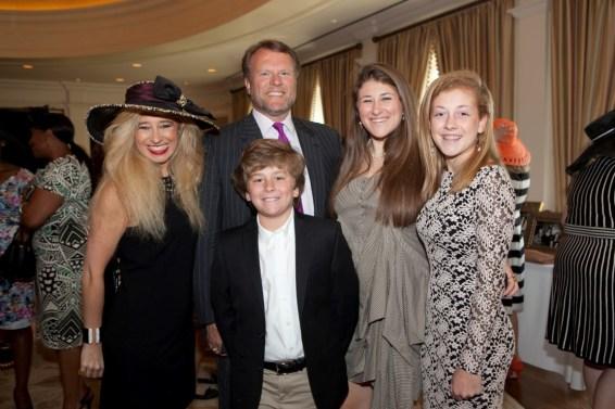 Sofia Adrogue and family