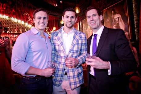 Ryan Walsh, Mark Godard, Logan Greer
