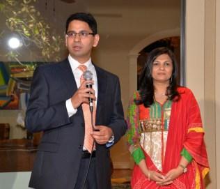 Event Hosts Dr Aparna Kamat & Dr Ashish Kamat