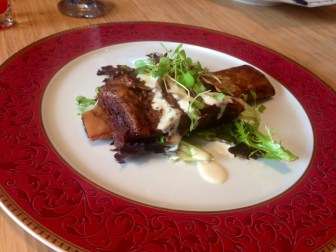 Sweet soy glazed beef short rib