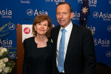 The Honorable Nana Booker, Honorary Ambassador to Australia, Prime Minister Tony Abbott