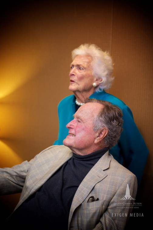 Houston Mayor and President George Bush Sr. Celebrate Peace and Unity at the Houston Symphony - Milestone of Fall of Berlin Wall (7)