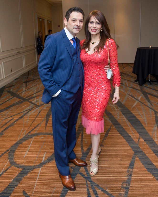 Karina and Carlos Barbieri - Photo Courtesy of CultureMap Emile C Browne