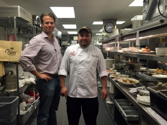 General Manager Daniel Elliott and Executive Chef Ricardo Ramirez-Rea
