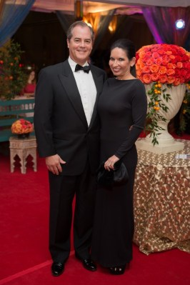Monte and Denise Tinkham; Photo by Wilson Parish
