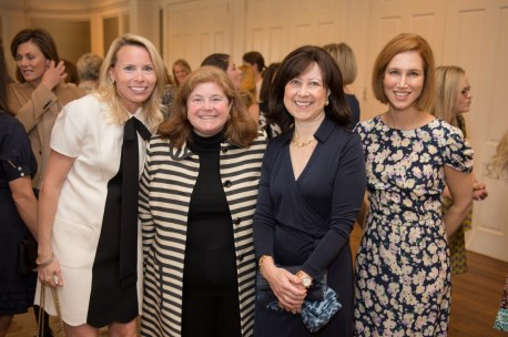 Cathy Trask, Amy Le, Sarah Pesikoff and Carolyn Dorros