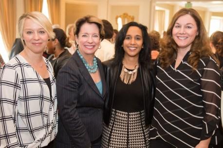 Sicily Dickenson, Executive Director Tammie Kahn, Angela Fullen and Karen Harvie