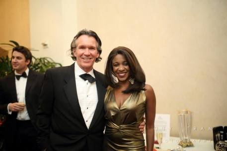 Peter Remington and Jacquie Baly