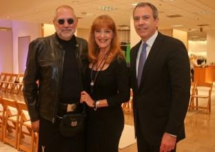 Bob Cavnar, Gracie Cavnar & Bob Devlin - Photo by Jason Mortel