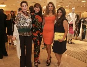 Guest, Karina Barbieri, Vanda Drorfield & Ruchi Mukherjee - Photo by Jason Mortel