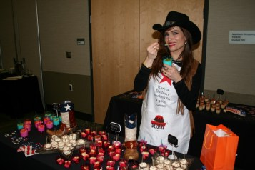 Karina Barbieri at Texas Taste Teaser