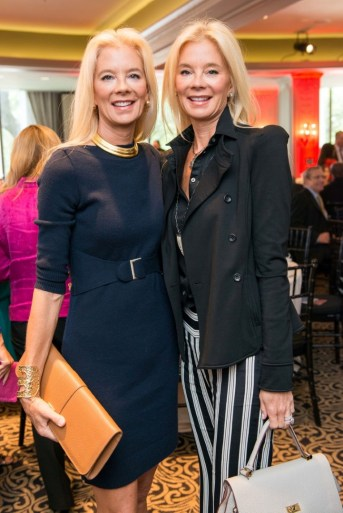 Crime Stoppers supporters Tama Lundquist and Tena Faust