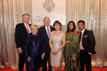 Bill Gross, Paula Sutton, Jay Harberg, Karen Harberg, Leena Shah and Ash Shah
