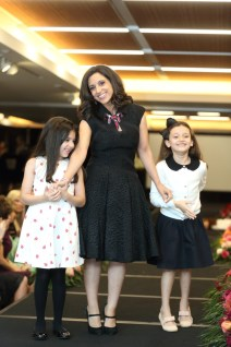 Rania Mankarious with her daughters