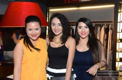 Daisy Mendoza, Guadalupe Mandujano, Amy Mendoza