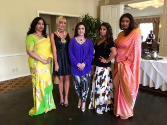 Hema Prasad, Staci Henderson, Maha Khan, Ruchi and Swati Madhusani