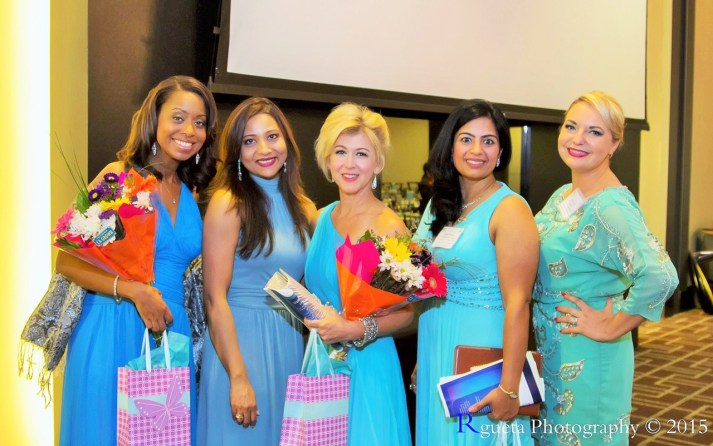 left to right, Melinda, Runsi, Lisa Slater, Asma Rahim, Zory Gonzalez