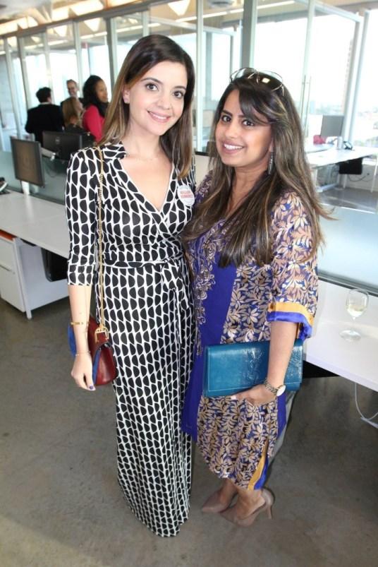 Layla Asgari and Ruchi Mukherjee