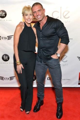 Jerri Moore and Jason Gibson