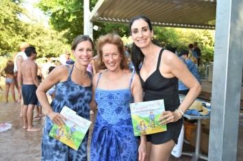 Leslie Lerner, Sheila Aron , Stephanie Aron Weiss