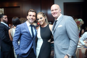 Mike Chabala, Jenny Myers and Chris Myers