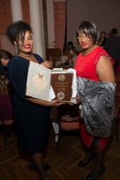 Ms. Dorris Ellis (Honoree & Founder/Owner of The Houston Sun) & her daughter, Dorcas Robinson
