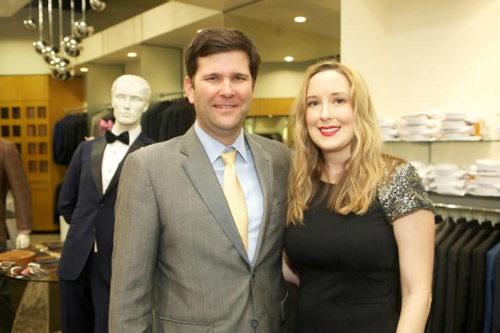 Charlie Neuhaus and Andrea Sivells