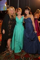 2016 Women of Distinction DeeDee Marsh, Jo Ann Petersen, and Mady Kades Photo by Priscilla Dickson