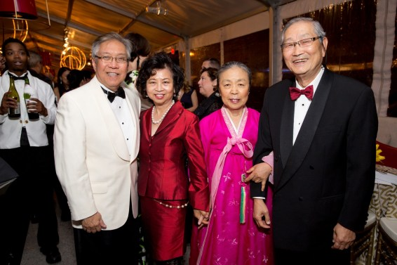 Gordon and Sylvia Quan, Gigi and Timothy Seo