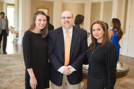Lindsey Bainbridge, Mark Price, and Kasteena Parikh