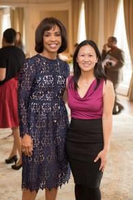 Mistress of Ceremonies Gina Gaston Elie and Speaker Michelle Lee