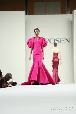 Model showcasing Zac Posen's 2016 Fall Collection