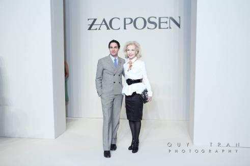 Zac Posen and Lynn Wyatt