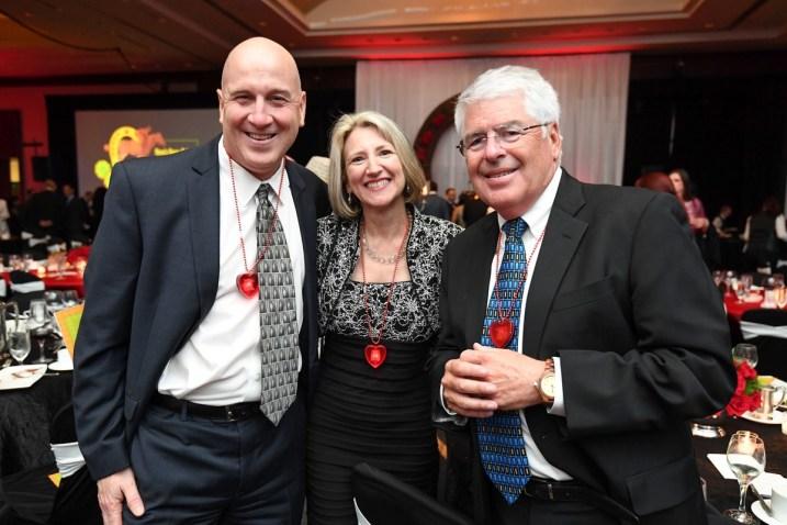 Michael and Susan Salinas, Kevin Doris