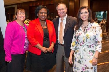 Veronica Martinez, Mary Benton, Council Member Mike Laster, Deborah Elias