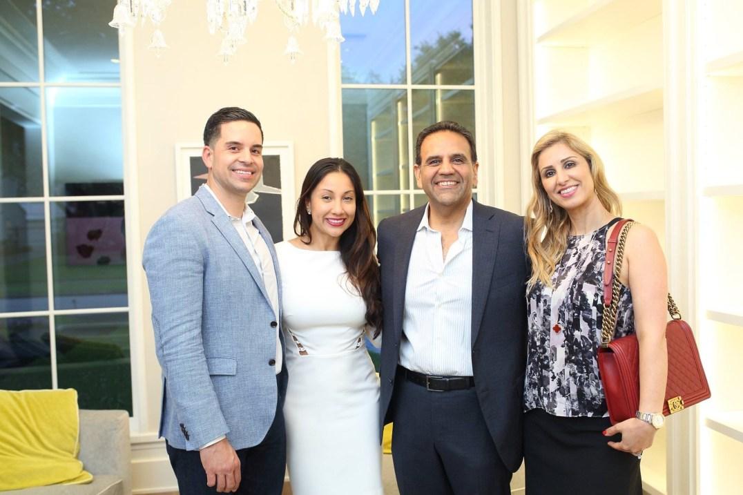 Jose and Nancy Almodovar, Al Ross and Mahin Ahmadi