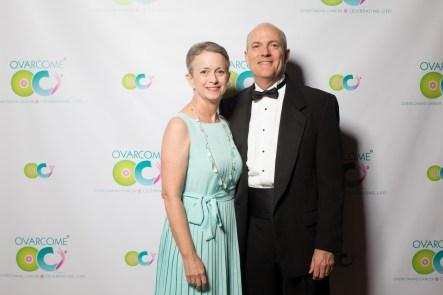 Survivor Beth Patterson with husband Jim Patterson