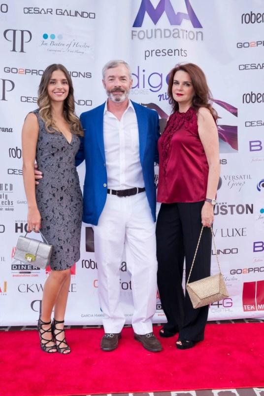Lorena Santoni, Richard Markey, Adriana Santoni